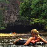 Photo of the Week – Cave Tubing, Belize