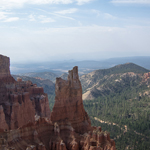 Driving Through Bryce Canyon National Park