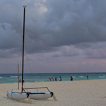 Photo of the Week – Playa Del Carmen's Cloudy Beach