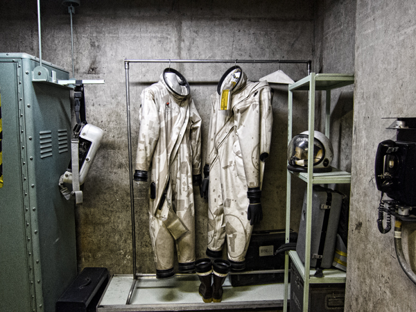 Fueling Suits at Titan Missile Museum