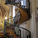 The Loretto Chapel & Famous Spiral Staircase