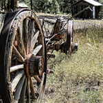 Photo of the Week – Old Wagon in New Mexico's Countryside
