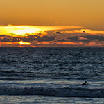 Photo of the Week – California Sunset & Surfers