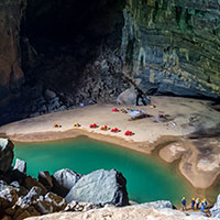 Camping Inside The World's 3rd Largest Cave