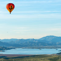Floating over the Desert – My First Hot Air Balloon Ride